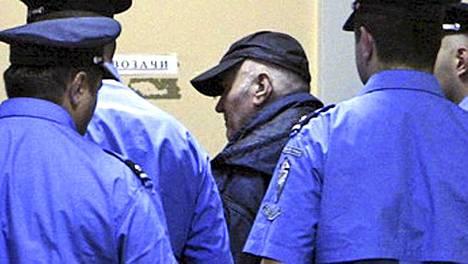 Serbian television kuvanauha paljasti Mladicin surkean kunnon.