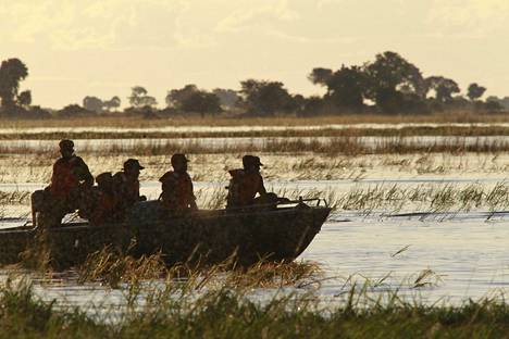Choben kansallispuisto Botswanassa.