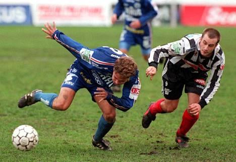 Simo Valakari pelasi samaan aikaan FinnPassa Aly Dian kanssa.