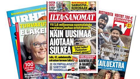 Kaikki Ilta-Sanomien painetut lehdet ovat luettavissa myös digitaalisina näköislehtinä.