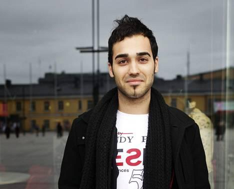 Turkissa syntynyt Ozan Yanar muutti Suomeen 14-vuotiaana.