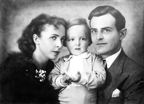 Perhepotretti 1930-luvulta.