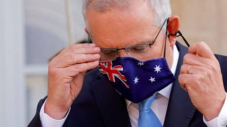 Pääministeri Scott Morrisonin mukaan Australia aikoo jatkaa hiilen kaivamista ja vientiä niin kauan kuin sille on kysyntää.