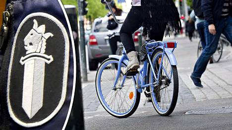 –Polkupyöräily on kasvanut valtavasti. Selvästi on tarvetta jakaa lisää tietoa siitä, miten säännöt menevät ja missä on polkupyörän paikka, ylikomisario Jarkko Lehtinen sanoo.
