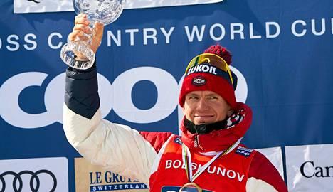 Nuoresta iästään huolimatta Aleksandr Bolshunov, 22, on tottunut menestymään. Viime kaudella hän oli maailmancupin kokonaiskisan toinen.