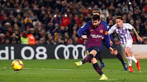 Lionel Messillä värikäs ilta – yksi rankkarimaali, varoitus ja epäonnistuminen pilkulta
