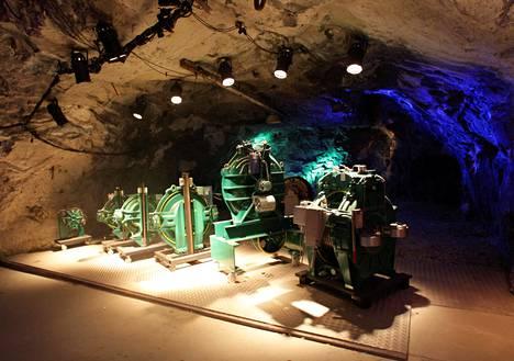 Tytyrin kaivos on Lohjalla.