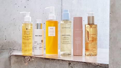 Öljymäisten puhdistustuotteiden tarkoituksena on putsata meikki ja lika ihoa kuivattamatta. Mahdollisista ennakko-oletuksista huolimatta ne sopivat myös rasvaiselle iholle.