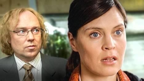 Pertti Sveholm ja Tiina Lymi ovat Nenna ja Esko.