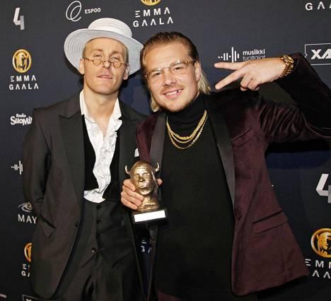 JVG pokkasi helmikuussa järjestetyssä Emma-gaalassa vuoden hiphop-palkinnon.