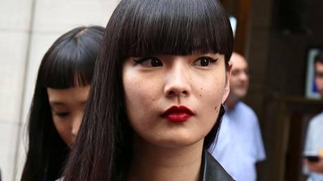 Japanilainen ihonhoito on nyt kuumimpia trendejä. Malli Kozue Akimoto.