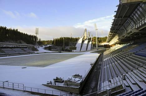 Lahden Salpausselällä kilpaillaan maailmancupin pisteistä lauantaina ja sunnuntaina.