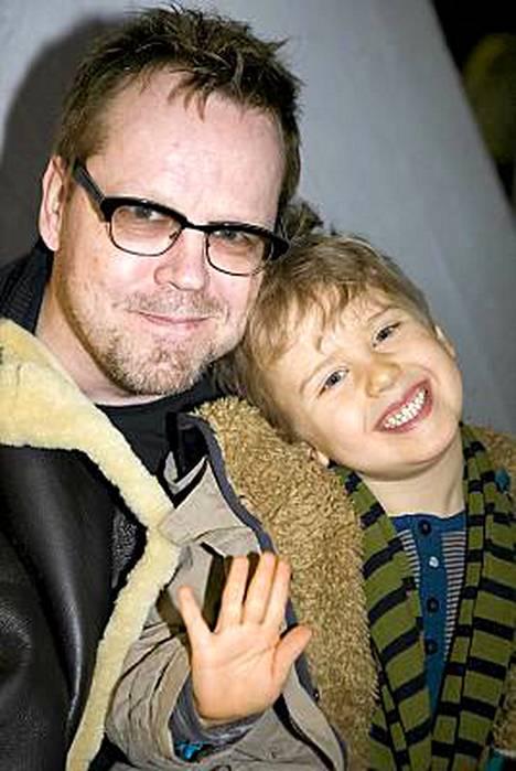 Pertti Neumann ja Niko-poika.