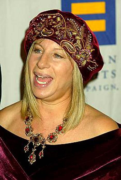 Barbra Streisand tietää arvonsa.
