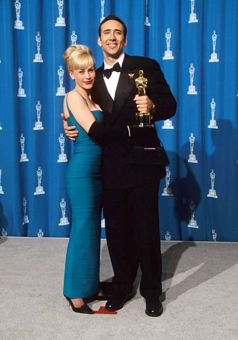 Patricia Arquette ja Nicolas Cage olivat aviossa muutamia vuosia.