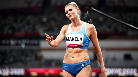 Kristiina Mäkelä sijoittui kolmiloikan finaalissa 11:nneksi.