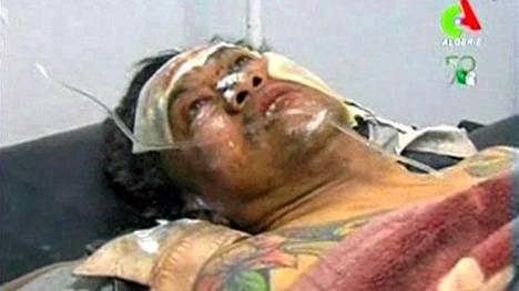 Tulituksessa haavoittunutta panttivankia hoidettiin sairaalassa Tigantourinessa perjantaina.