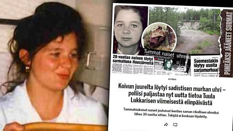Muun muassa keittiöapulaisena työskennellyt Tuula Anita Lukkarinen murhattiin sadistisesti ja jätettiin metsikköön Hausjärvelle huhtikuussa 1991.