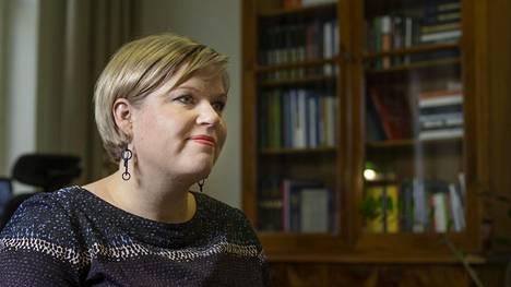 Tiede- ja kulttuuriministeri Annika Saarikko.