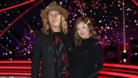 Jukka ja Chachi Hildén kuvattiin aiemmin tänä syksynä Tanssii tähtien kanssa -lähetyksen yhteydessä.