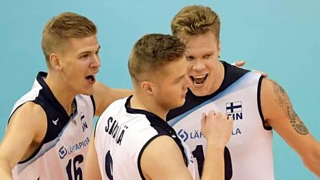 Suomi nujersi Puerto Ricon MM-lentopallossa – paikka 16 parhaan joukossa on nyt varma