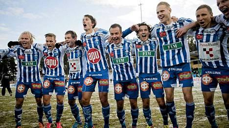 HJK juhli viime viikonloppuna jälleen Suomen mestaruutta.