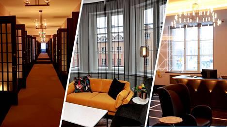 Hotelli sijaitsee Eliel Saarisen suunnittelemassa yli sata vuotta vanhassa jugendrakennuksessa, joka on täynnä historiallisia yksityiskohtia.