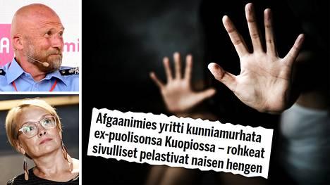 Yksi kunniaan liittyvän väkivallan muoto on pakkoavioliitto, sanovat Måns Enqvist ja Johanna Latvala.