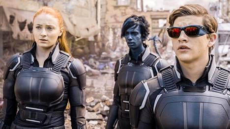 Mutanttien nuoret versiot: Jean Greytä uudessa X-Men-seikkailussa näyttelee Sophie Turner ja sinisävyistä Painajaista Kodi Smit-McPhee. Scott Summersia esittää Tye Sheridan.
