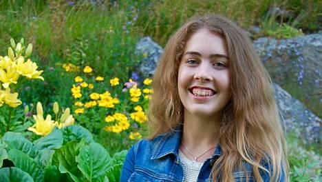 Nuorten kokkiohjelman voittanut Ida O'Mahoney teki myös omaa puutarhaohjelmaa televisioon.