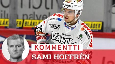 JYPin Julius Nättinen on noussut tähtiluokkaan SM-liigassa.