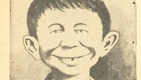 Madin maskottihahmo oli virnistelevä Alfred E. Neuman.