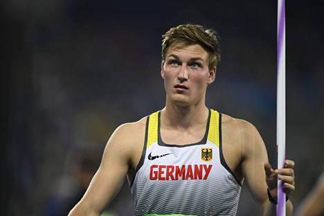 Saksan Thomas Röhler on yksi ennakkosuosikeista.