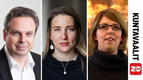 Tutkijat Mikko Majander, Johanna Vuorelma ja Emilia Palonen kertovat, mihin vaalituloksissa kannattaa kiinnittää huomiota.