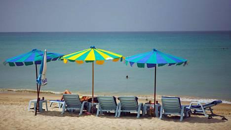 Matkaripuli voi vaania tropiikissa. Kuva Thaimaan Phuketista.