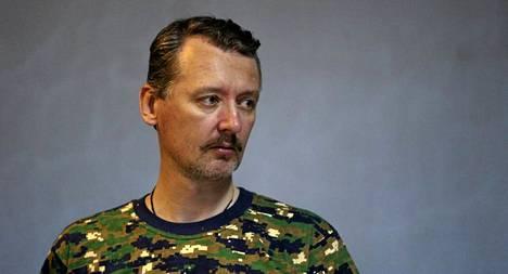 Igor Strelkov komensi kapinallisjoukkoja Donetskissa vielä alkusyksystä.