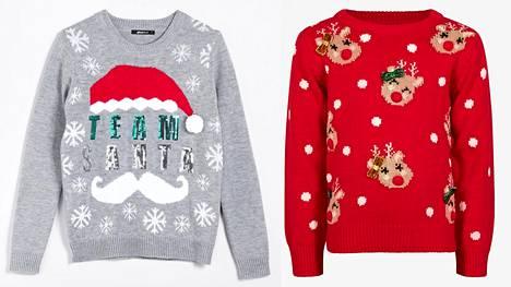 Ugly Christmas Sweater on mahdollisimman värikäs ja nimensä mukaan vähän ruma.