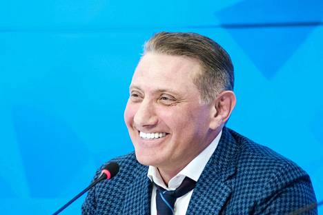 Boris Rotenberg kuvattuna Moskovassa 2017. Hangon Tvärminnessä hänen kerrotaan käyneen Vita Villan kiinteistöllään vain kerran viimeksi kuluneen neljän vuoden aikana.