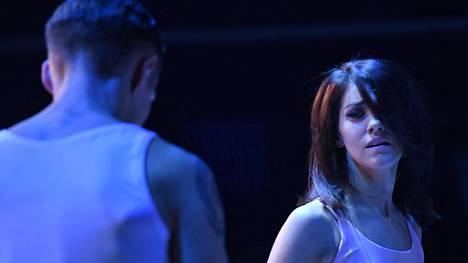 Jannika B liikuttui kyyneliin Tanssii tähtien kanssa -finaalissa.