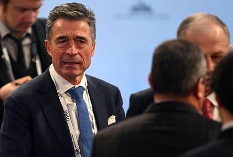 Naton entinen pääsihteeri Anders Fogh Rasmussen.