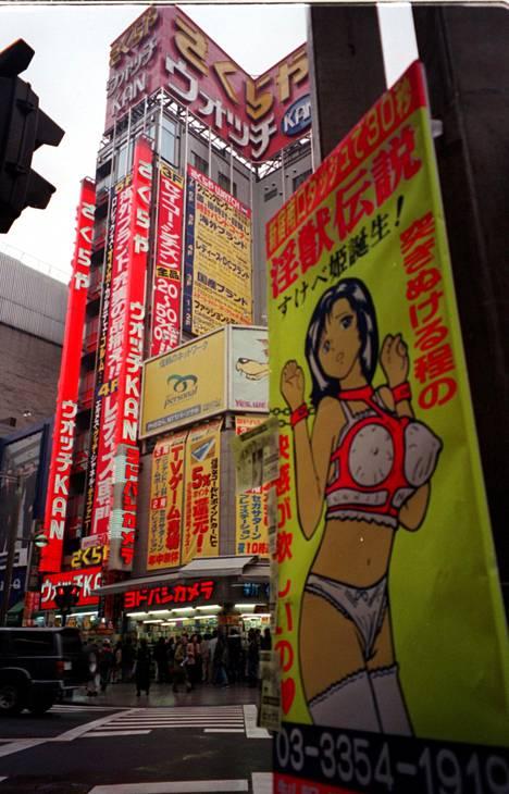 Katukylttejä Tokiossa.