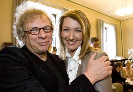 Tommy Tabermann ja Maria Guzenina eduskunnassa vuonna 2007.
