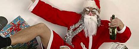 Humalainen joulupukki suoritti näyttävän entreen naapurin vessaan Hollannissa. Kuvan joulupukki ei liity tapaukseen