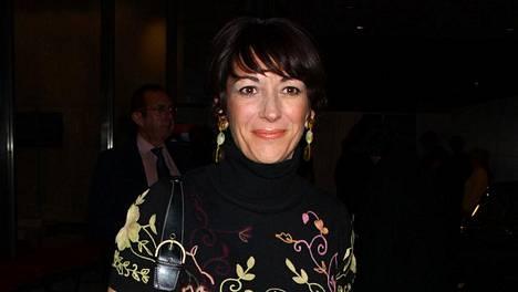 Ghislaine Maxwell kuvattuna vuonna 2003.
