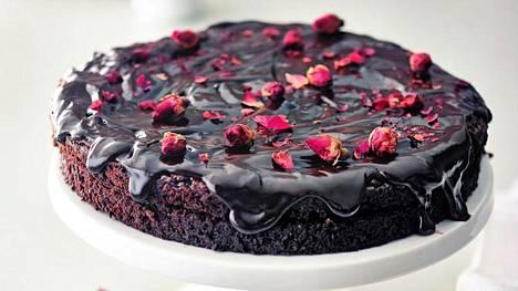 Death by chocolate -kakku sisältää puoli kiloa suklaata