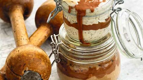 Chiasiemenistä saa rakennettua vaikka snickers-tuorepuuron.