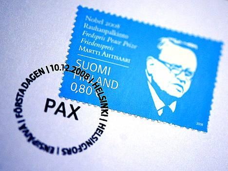 Presidentti Martti Ahtisaari sai Nobelin rauhanpalkinnon viime vuonna.
