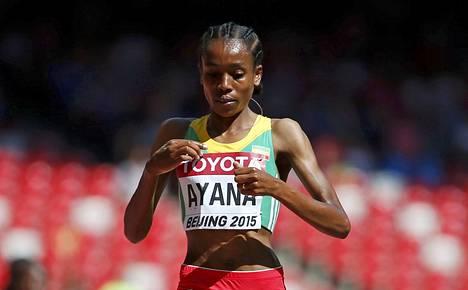 Almaz Ayanalla on potentiaalia rikkoa 5000 metrin maailmanennätys.