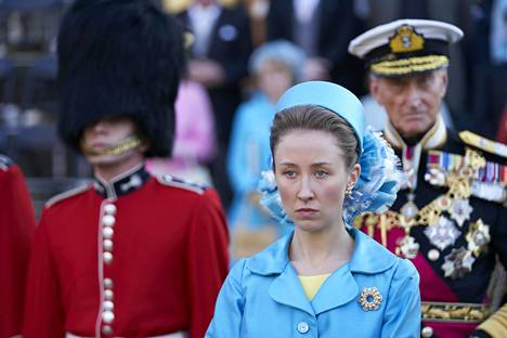 Prinsessa Annena nähdään Lyla Barrett-Rye.