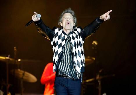 Mick Jagger täyttää kuukauden päästä 76 vuotta. Yhtyeen kiertuetta jouduttiin lykkäämään laulajan sydänleikkauksen vuoksi.
